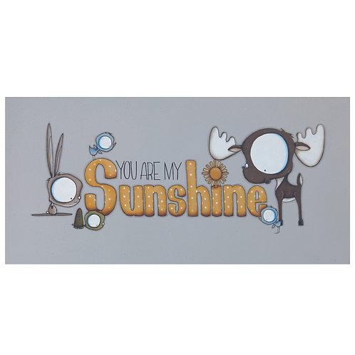 Sunshine Moose Original Painting