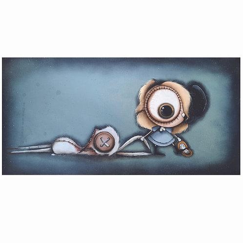 """12""""x24"""" Alice Original Painting"""
