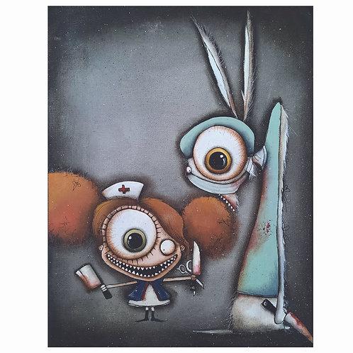 "11""x14"" Nurse/ Surgeon Painting"