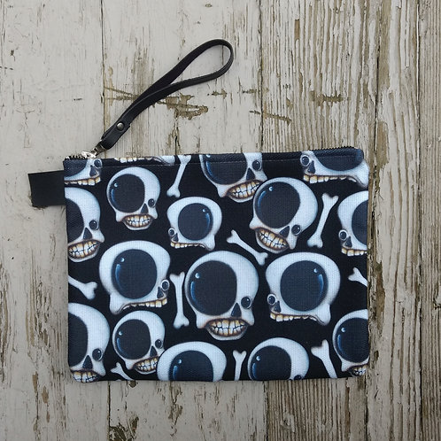 Skulls Zippered Carry-all