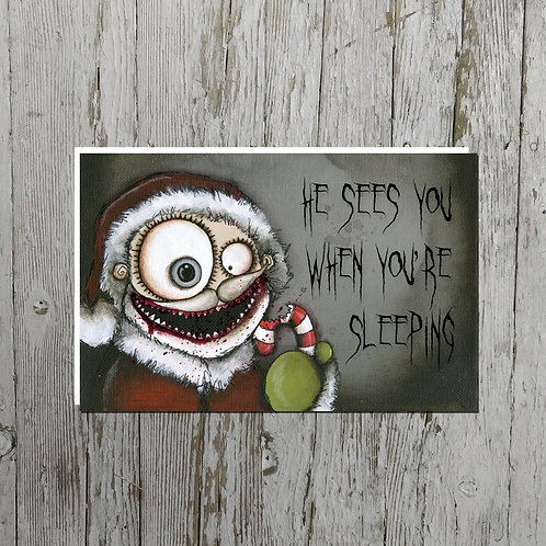 He Sees You...Card