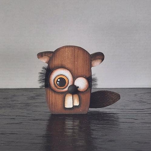 Hand Painted Beaver