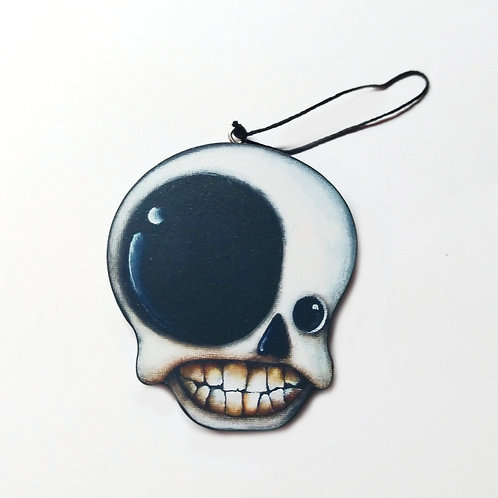 Front Skull Ornament