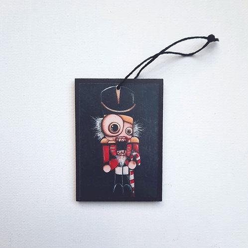 Small Nutcracker Ornament