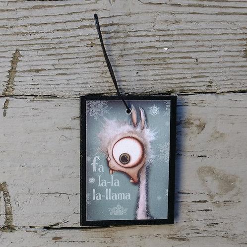 Small Llama Ornament