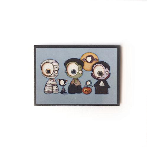 Kid Friendly Halloween Magnet