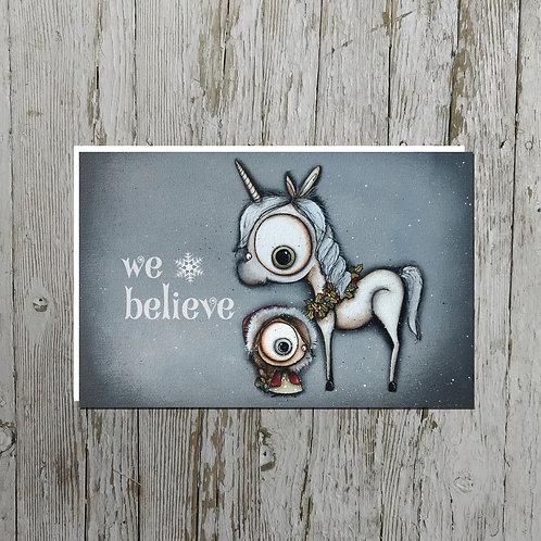 We Believe Card