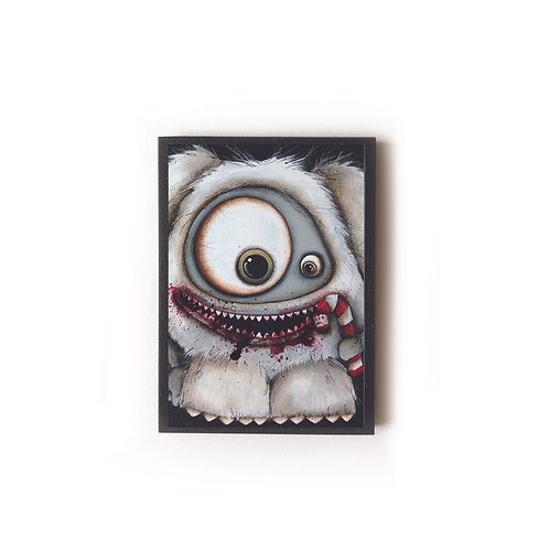 Abominable Snowman Magnet