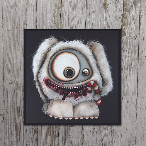 Abominable Print Plaque