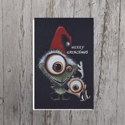 Grinch Card