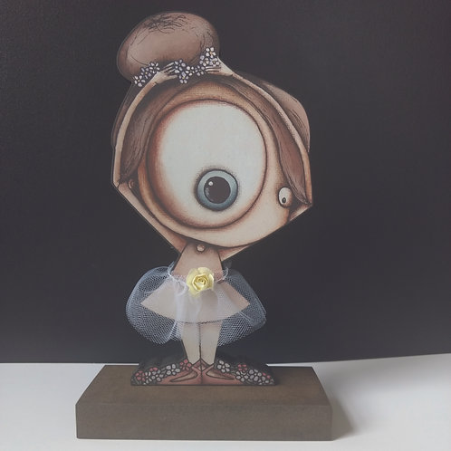 Ballerina Air Print Stand-Up