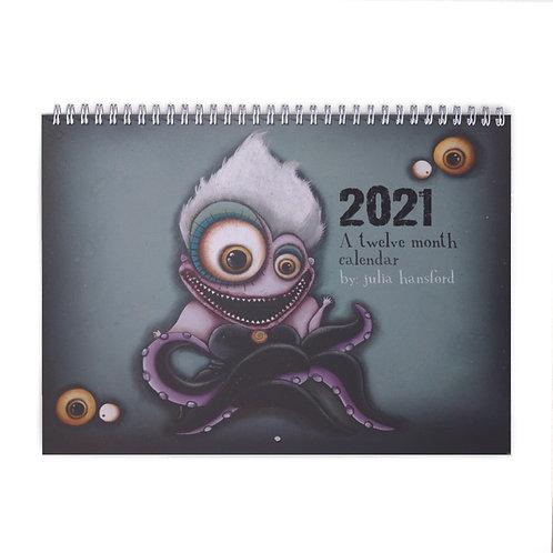 2021 12-Month Calendar