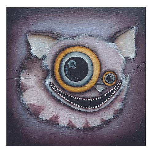 """12""""x12"""" Cheshire Cat Original Painting"""
