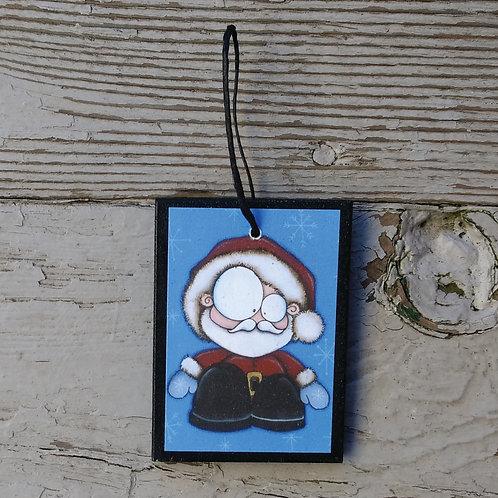 Small Santa Ornament