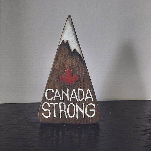 Canada Strong Mountain