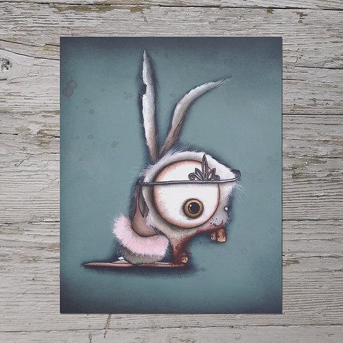 Ballerina Bunny Print