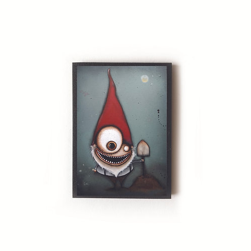 Creepy Gnome Magnet