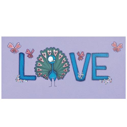 Love Peacock Original Painting