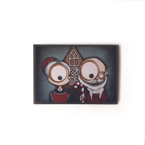Gothic Christmas Magnet