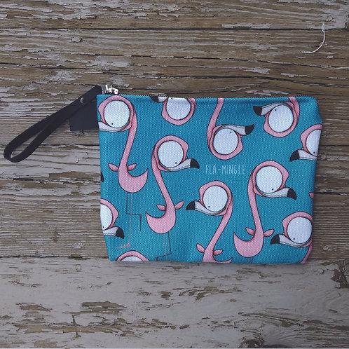 Fla-mingle Zippered Carry-All