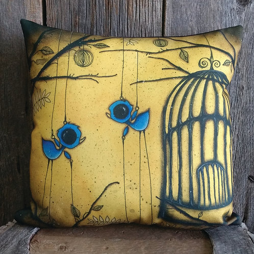 Birdcage Pillow Case
