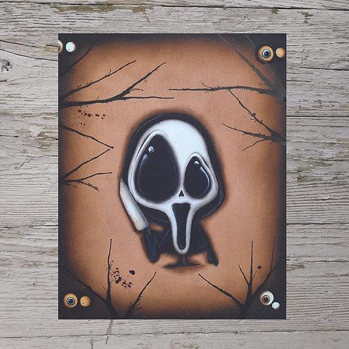Ghostface Print