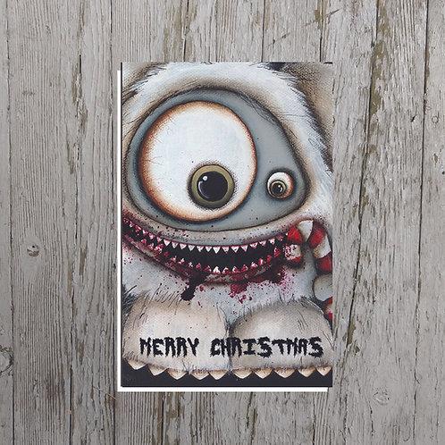 Abominable Snowman Card