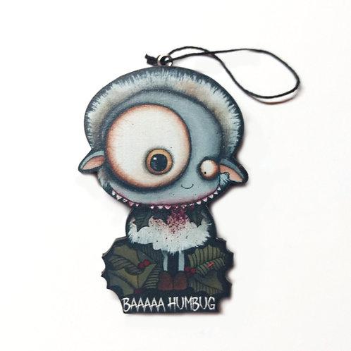 Baaa Humbug Ornament