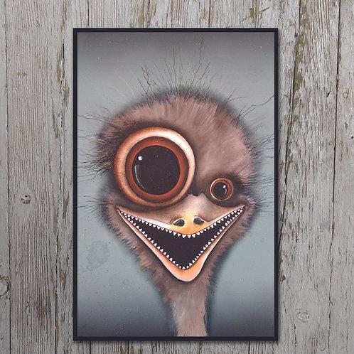 Emu Print Plaque