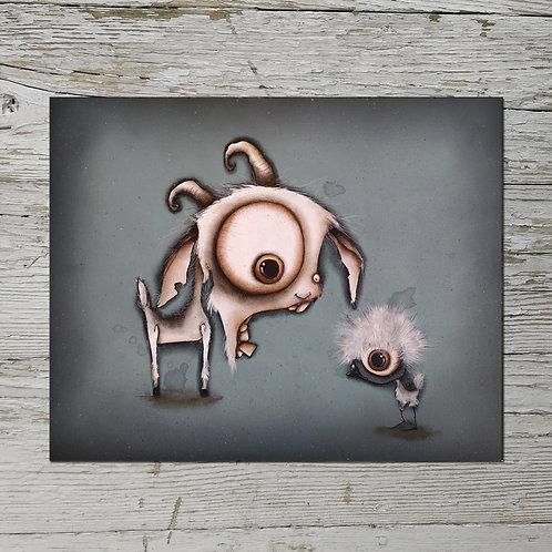 Goat Print