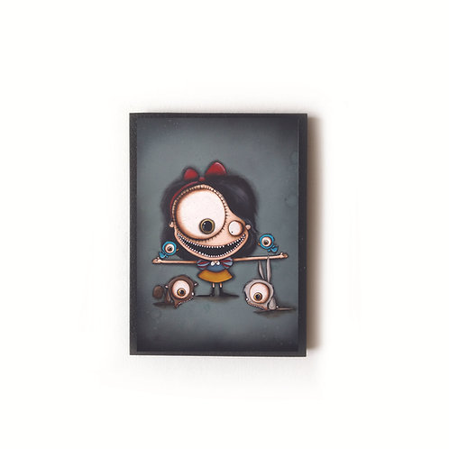 Snow White's Friends Magnet