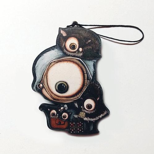 Cat Lady Ornament