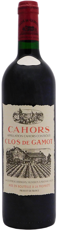 2016 Clos de Gamot, AOC Cahors, Malbec
