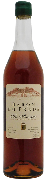 XO Chateau du Prada, Bas-Armagnac, Folle Blanche and Colombard