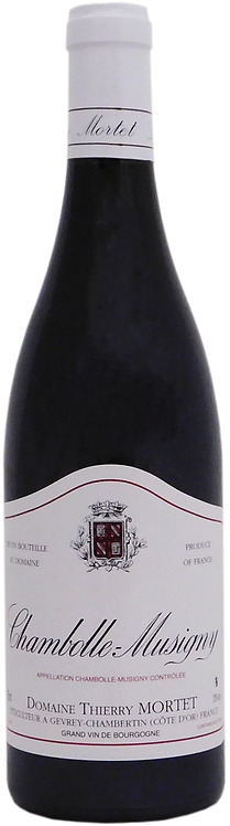 2017 Domaine Thierry Mortet, AOC Chambolle-Musigny