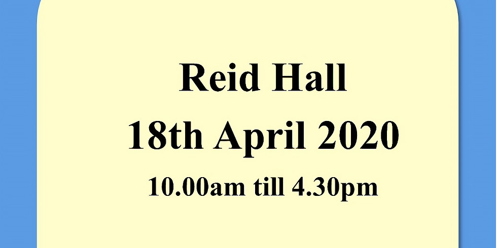 Reid Hall - Forfar 18th April 2020