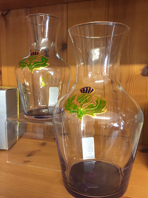 Thistle Motive Vase