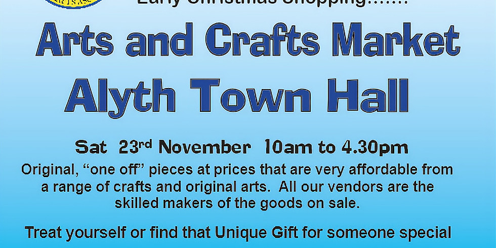 Alyth Town Hall - 23rd November 2019