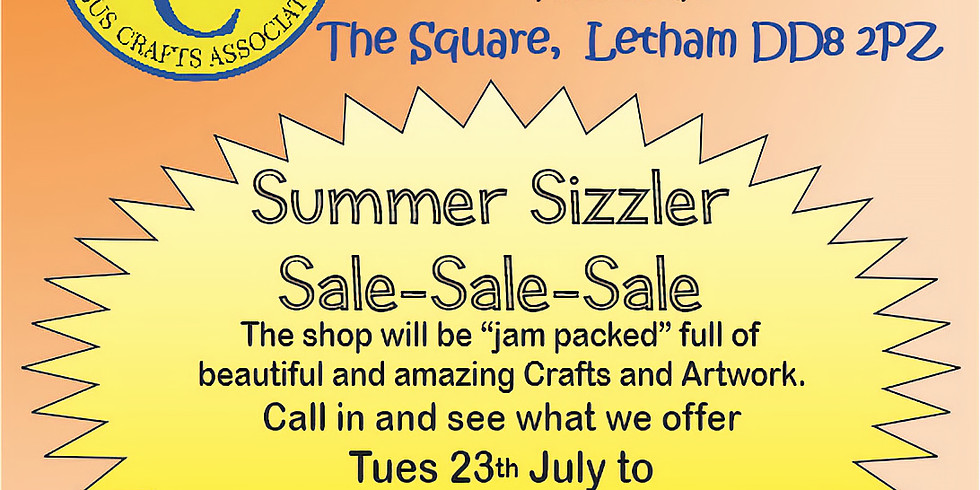 Hand Pict Summer Sizzler Sale - 23rd/28th July 2019