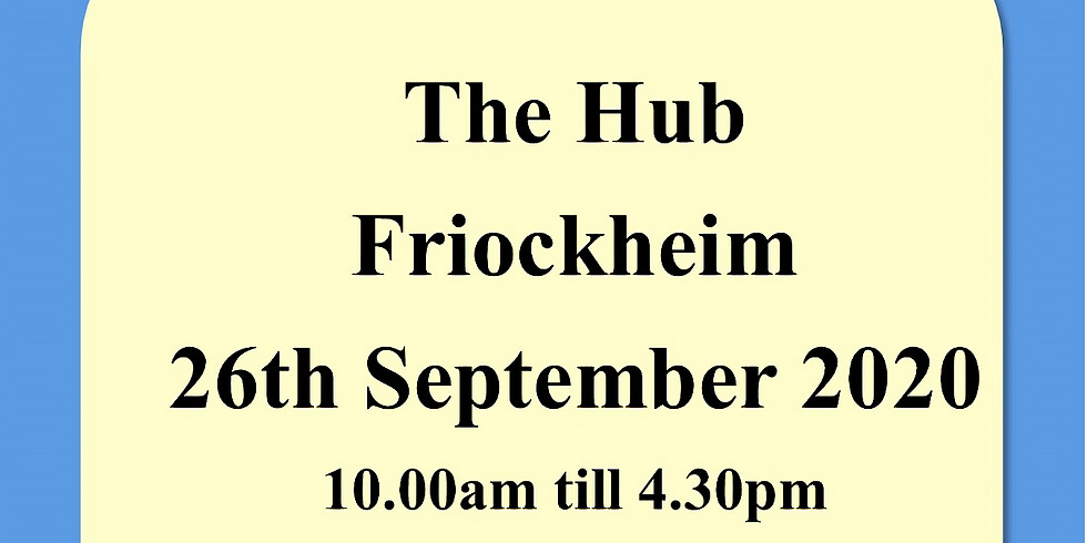 The Hub  Friockheim 26th September 2020