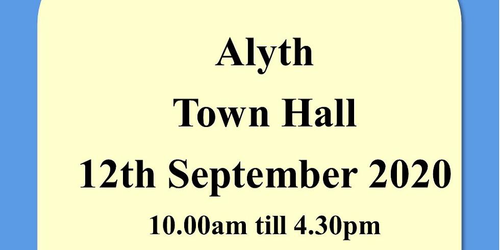 Alyth Town Hall 12th September 2020