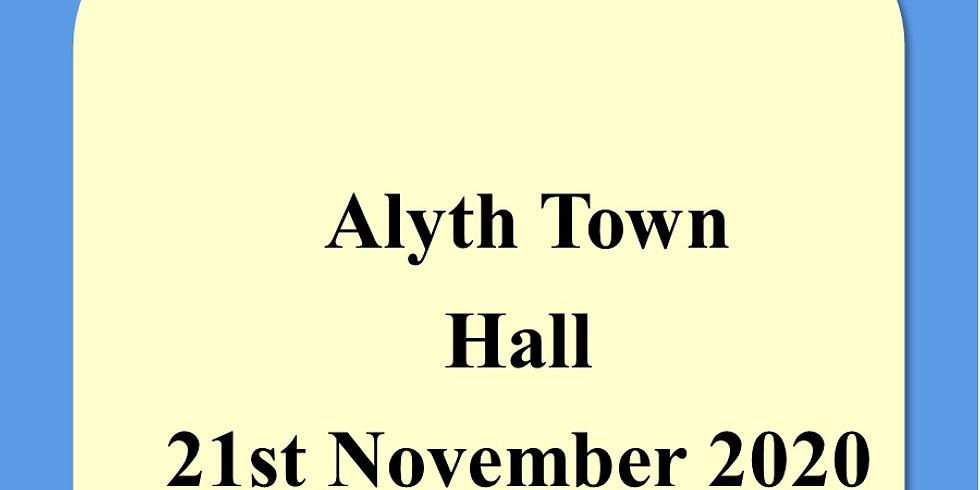 Alyth Town Hall 21st November 2020