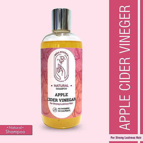 ROSA MYSTICA naturals Apple Cider Vinegar Shampoo No Parabens & No Sulphate, 300