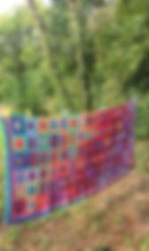 Crocheted blanket Attic 24