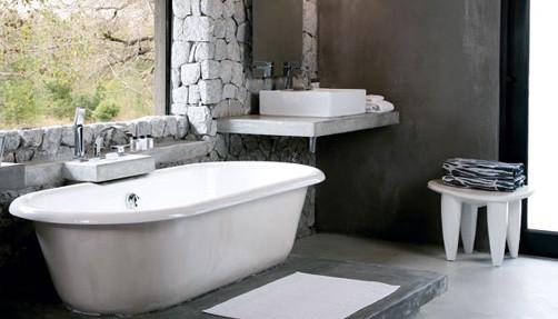 Granite Camp Bathroom