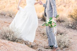 ETHEREAL DESERT WEDDING