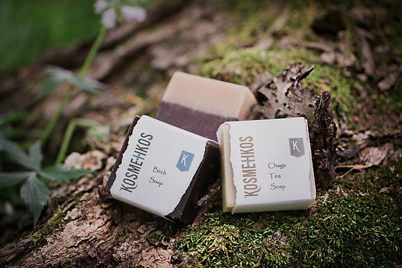 Birch and Chaga Bath Bars
