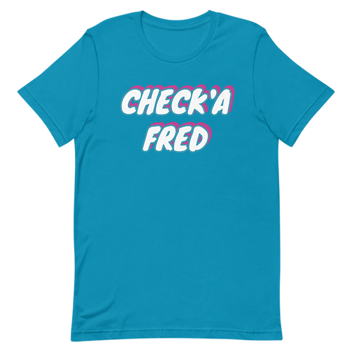 Check'a Fred Vice T-Shirt (Blue)