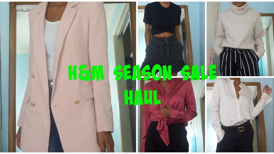 H&M Mid-Season Sale   Fall Haul 2018🛍