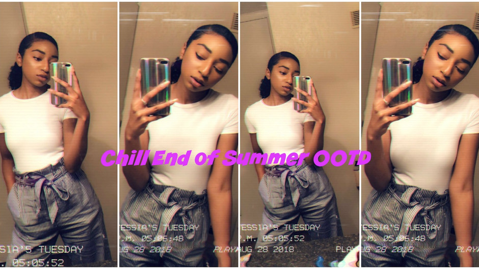 Chill End of Summer OOTD